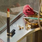 Gucci彩妆系列呈献全新High Shine Lipstick炫彩闪漾唇膏系列