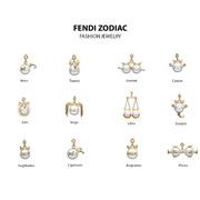 FENDI Zodiac星座挂饰胶囊系列 你的FENDI星座是?