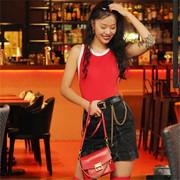 纪梵希推出2018七夕红色特别款GV3手袋