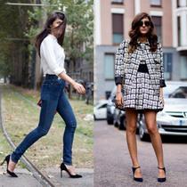 让街拍告诉你7种高跟鞋搭配法则