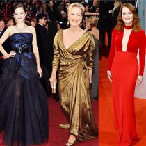 奥斯卡红地毯女性礼服预测