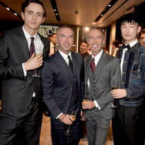 Dsquared2在英国伦敦首家旗舰店盛大开幕,Dean and Dan在 LouLous举办私人晚宴