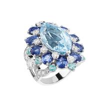 珠宝海洋风 有一种宝石叫做海蓝宝