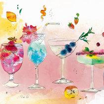 夏日给肌肤喝一杯水果鸡尾酒