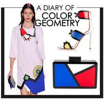 色彩几何 缤纷色块挑动夏日