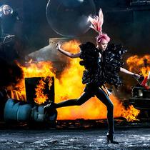 《中国超模》第八集 爆破大片