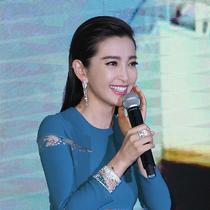 李冰冰佩戴CHAUMET尚美巴黎高级珠宝出席上海国际电影节