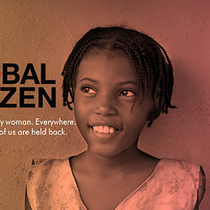 "古驰""CHIME FOR CHANGE希望响钟""运动与Global Citizen合作 推动全球女性权益运动发展"