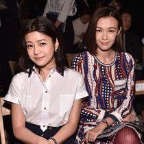 陈妍希与李艾 身着Tommy Hilfiger服饰亮相纽约时装周