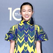 中国超模雎晓雯现身VOGUE十周年盛典