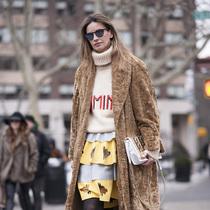 入冬厚外套这样穿保暖又时尚