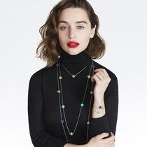 艾米莉亚•克拉克倾情演绎 迪奥高级珠宝ROSE DES VENTS(罗盘玫瑰) 系列最新广告大片