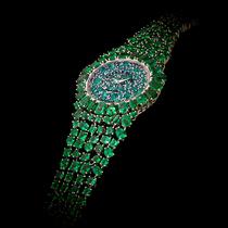 GEMFIELDS聯手BACKES & STRAUSS 打造獨一無二的私人定制祖母綠珠寶腕表-珍品盛視
