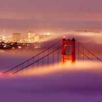 如果没有霾 雾原来可以这么美