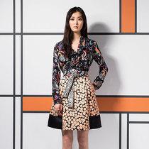 狂野与印花碰撞出的优雅不羁ETRO 2016早春度假系列裙装