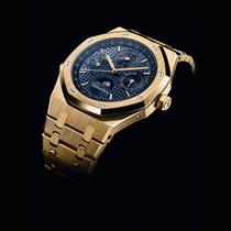 传奇杰作的黄金回归: 爱彼推出全新皇家橡树系列万年历腕表黄金款