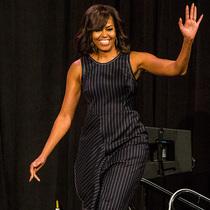 美国第一夫人Michelle Obama身着3.1 Phillip Lim亮相SXSW大会