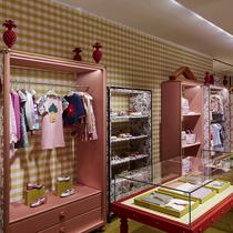 古驰米兰蒙特拿破仑大街旗舰店呈献全新童装概念空间