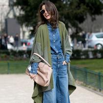 喇叭裤短一截更时髦