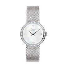 迪奥发布La D de Dior Satine系列高级腕表