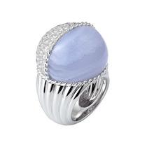 宝石中的清新风 有一种美叫蓝玉髓