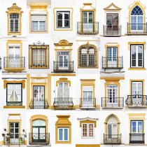 葡萄牙摄影师游历欧洲  只为那些最美的老窗户