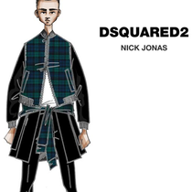 NICK JONAS 选择 DSQUARED2 为其巡回演唱会设计造型