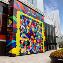 Longchamp「珑骧」揭幕上海静安嘉里中心旗舰店围墙艺术合作
