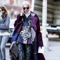 外套一件穿不够 叠穿才是潮流