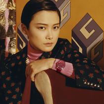 李宇春倾情演绎GUCCI全新腕表首饰广告形象大片
