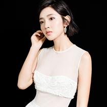 唐藝昕佩戴Chopard蕭邦高級珠寶系列出席《獨步天下》發布會-名人秀