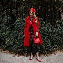 开运指南 红色单品穿出新年仪式感-时尚街拍