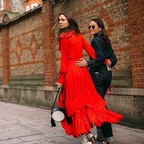 2018秋冬伦敦时装周街拍Day6-时尚街拍