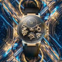 时光之轮 雅典表《经理人自由之轮陀飞轮腕表》-行业动态