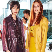 #SuzyNYFW: Triple Vision – The Row, Mansur Gavriel And Sies Marjan-Suzy Menkes专栏