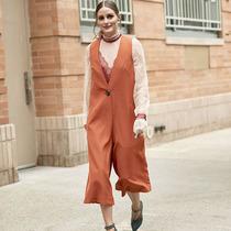 穿秋衣 高領打底衫疊穿起來才時髦-時尚街拍