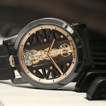 深邃优雅 惊艳回归 CORUM昆仑表隆重推出全新DLC涂层钛金属金桥腕表-摩登腕表