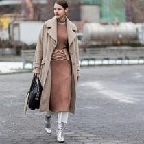大衣+裙子 最好看的穿法就看這一篇-衣Q進階