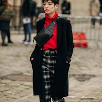 巴黎男装周街拍第四日-时尚街拍