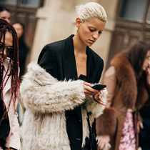 巴黎時裝周街拍第七日-時裝周報道