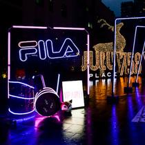 线下活动主题 夜型动物引爆时尚热点,FILA打造#街头核力 夜型玩家#潮流派对-品牌新闻
