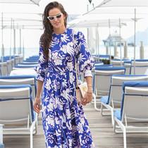 蓝色连衣裙,给你一整个夏天-风格示范