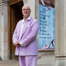 Manolo Blahnik: A Conversation Between Fashion And Art-Suzy Menkes专栏
