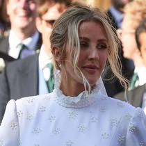 Ellie Goulding的婚礼发型大揭秘-美发