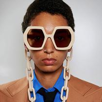 米蘭時裝周Gucci 2020春夏系列太陽鏡-風格示范