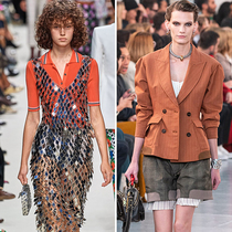 #SuzyPFW Chloé and Paco Rabanne: Making Fashion Gender Neutral-Suzy Menkes专栏