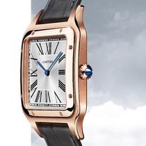 瀟灑風范 內外兼修 卡地亞Santos-Dumont XL號腕表全新亮相-品牌新聞