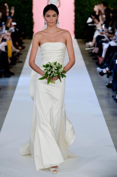 2015春夏婚紗趨勢之:古典簡約