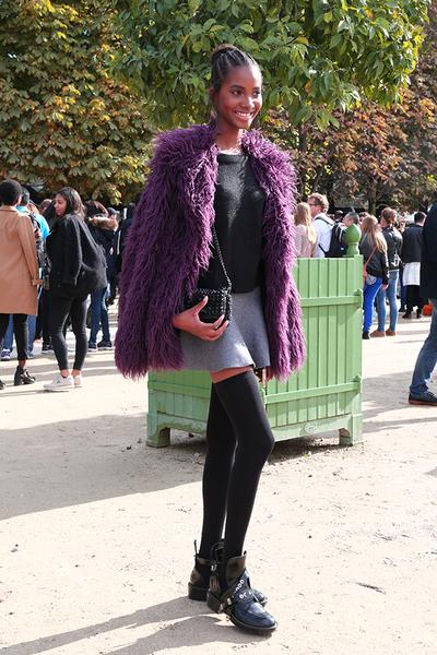 2016春夏巴黎时装周街拍 Day8
