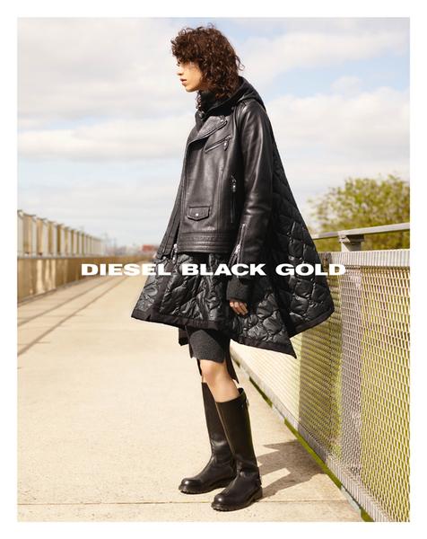 张扬不羁,内敛自信 DIESEL BLACK GOLD 2016隆重发布2016秋冬广告大片